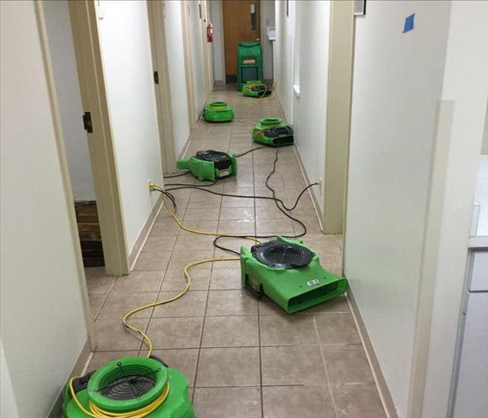 Water Damage in Medical Facility- Mesquite, TX After