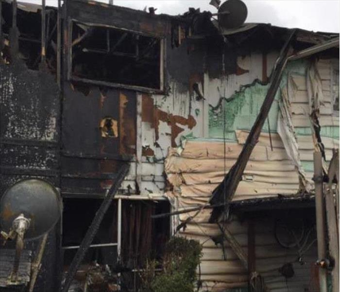 House Fire Caused By Adjacent Unit