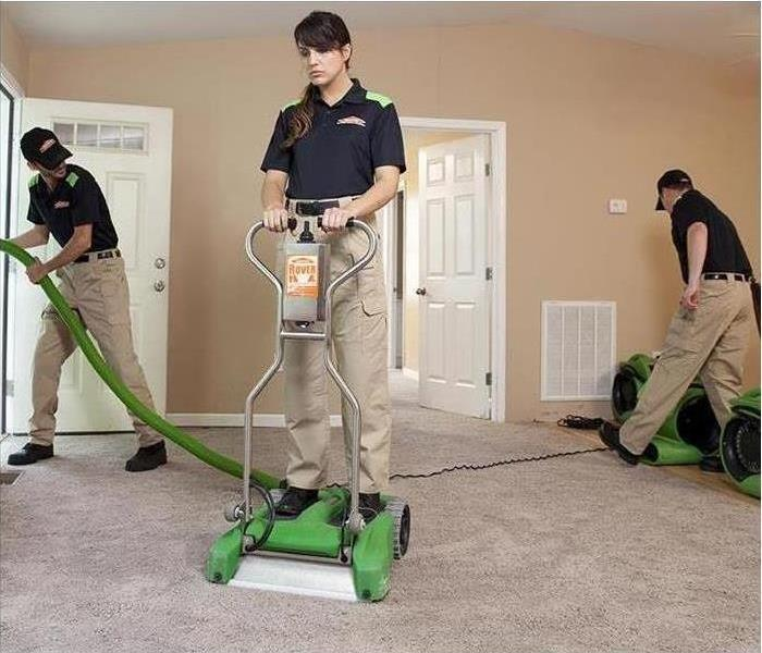 Cleaning SERVPRO of Mesquite Spring Cleaning!