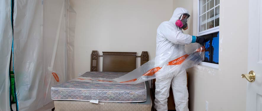 Mesquite, TX biohazard cleaning